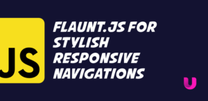 Flaunt.js for stylish responsive navigations with nested click-to-reveal