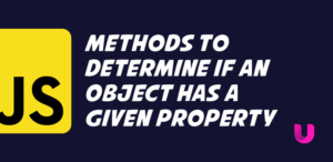 Methods to determine if an Object has a given property