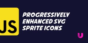 Progressively enhanced SVG sprite icons